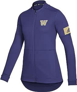 NCAA 华盛顿大学爱斯基摩犬女士储物室游戏模式飞行员夹克,紫色,大号