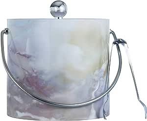 美国制造双壁 3 夸脱保温冰桶,带赠冰夹 雪花石膏 S7059_ALABAS