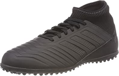 adidas Unisex Kids Predator Tango 18.3 TF Gymnastics Shoes, Multicolour (Core Black/Utility Black/Core Black 0), 1 UK
