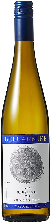 【亚马逊直采】Bellarmine 贝勒铭精选雷司令 半干白葡萄酒 750ml (亚马逊进口直采葡萄酒,澳大利亚品牌) 自营精选