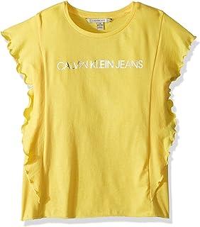 Calvin Klein 女童圖案 T 恤