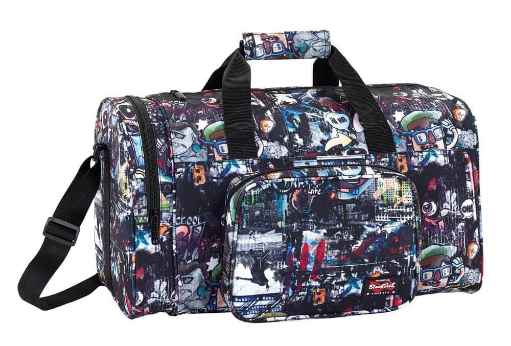 Blackfit8「都市の旅行YK-1403S-02の女性のバッグハンドバッグファッションメンズニュートラルヤンキースストレージ「公式スポーツバッグ
