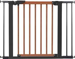 Baby Dan Avantgarde Schwarzschutzgitter 门和楼梯,71.3 97.6 厘米樱桃色/黑色