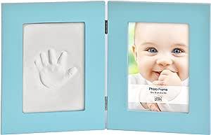Innova Baby Keepsake 照片和印画套件,蓝色,12.7 x 17.78 cm