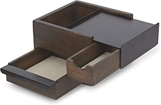 umbra 配件收纳 STOWIT JEWELRY BOX (Storyet 珠宝盒) 黑色/胡桃色 Mini 1005314-048