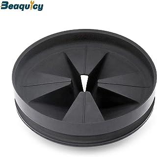 Beaquicy QCB-AM 黑色橡胶Quite Collar 水槽挡板 - InSinkErator 的替代品