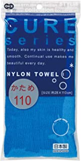 Ohe Cure2 尼龙毛巾 蓝色 約幅28×長さ110cm -