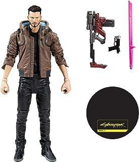 BANDAI 13502-2 - McFarlane Toys Cyberpunk 2077 - V 公 - 18 厘米可动公仔