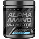 Cellucor Alpha Amino Ultimate EAA & BCAA Recovery Powder, Essential & Branched Chain Amino Acids For Post Workout Recovery, Blueberry Lemonade, 20 Servings