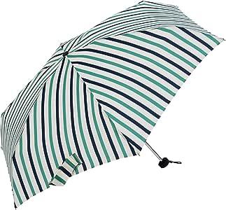 niftycolors 女式 晴雨两用折叠伞 条纹 轻松开合 防紫外线