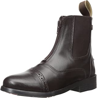 equistar 儿童四季拉链 paddock 靴子