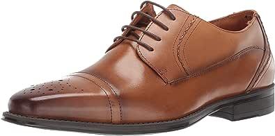 STACY ADAMS 男士 Powell 开普托系带牛津鞋 棕褐色 10.5 M US