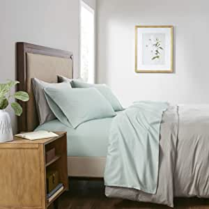 Sleep Philosophy Smart Cool 超细纤维床单套装 水绿色 King SHET20-973