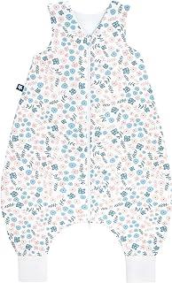 Julius Zöllner 9112569280 夏季套头运动衫夏季睡袋带腿(0.5 Tog)花朵尺码 80/10-18 个月,多色