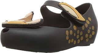 迷你 melissa 儿童迷你 ultragirl + BAMBI 芭蕾平底鞋 黑色 5 Medium US Toddler