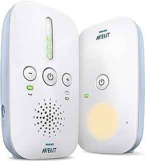Philips Avent 飞利浦新安怡 婴儿音频手机 监视器 SCD503/26 DECT 技术 Eco 省电模式 24 小时 运行时长 夜灯