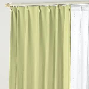 遮光窗帘B&蕾丝DO 01.幸运绿 幅125×丈240cm 4枚組 -