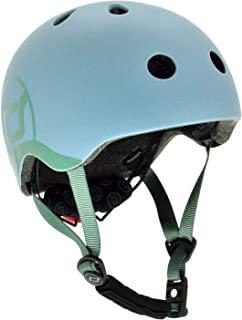 Scoot & Ride 儿童头盔带可调节带,LED *灯和无夹磁性玫瑰