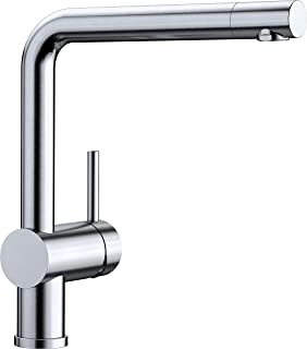 Blanco 鉑浪高 Linus 廚房水龍頭,金屬表面處理,不銹鋼表面處理,高壓,1件,514021