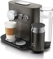DeLonghi 德龙 EN 355.GAE Nespresso 胶囊咖啡机 (1.1 升 2090瓦特 支持蓝牙) 灰色