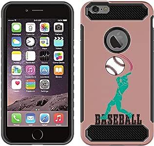 iPhone 6 Rose Gold - Baseball Bat
