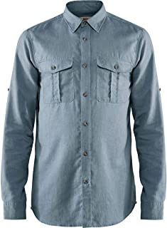 FJALLRAVEN Övik 旅行衬衫 LS M 男式长袖衬衫,男式,F82999