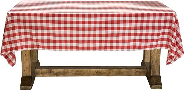 lann ' s linens–高级桌布适用婚礼/宴会/餐厅–长方形涤纶桌布多种颜色和尺寸)