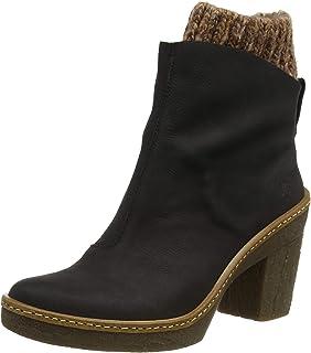 El Naturalista 女士 N5177 Pleasant 黑色/Haya 短靴