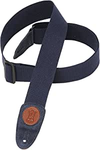 Levy's Leathers X-long 2 Cotton Guitar Strap,Navy