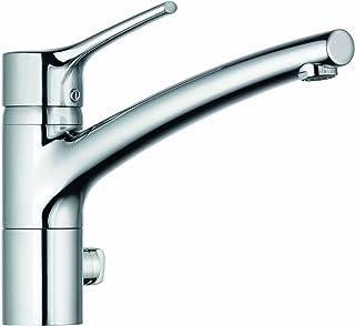 Kludi 33 576 96 75 不锈钢 Trendo DN 15 厨房水槽龙 带固定喷嘴 美国制造 - 灰色