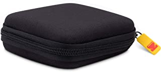 EVA 迷你投影机保护套 | 软模硬壳手提袋,适用于 Kodak Luma 便携式投影仪 | 防震、防尘、防水旅行保护 Luma 150 Case 黑色