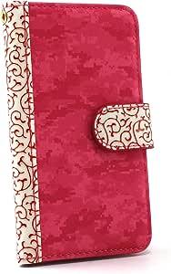 白色边框手机保护壳翻盖式浮雕  粉色 1_ iPhone7 Plus