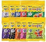 AMOS 粘土 50 克(1.8 盎司)10 种颜色套装/非常柔软光滑