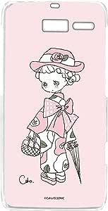 caho 手机壳透明硬壳印花和服与花手机壳适用所有机型  着物と花B 21_ RAZR M 201M