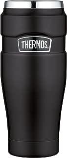 Thermos 膳魔師 帝王系列 16盎司(454g)不銹鋼旅行杯 磨砂黑