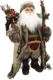 "Kurt S. Adler 18"" Kringle Klaus Forest Santa 公仔"