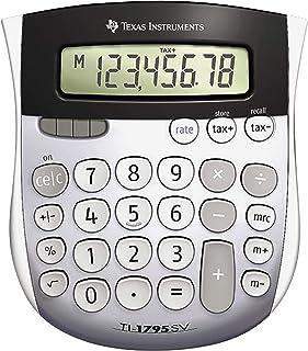 Texas Instruments TI-1795 SV 标准功能计算器 / 12 件装 12 包 银色