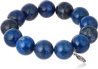 Cenote t1404[能量石配饰] 青金石 14毫米串珠手镯