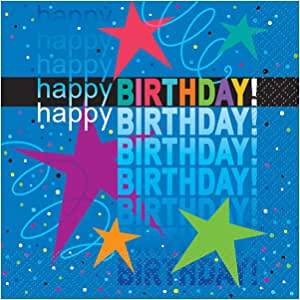 Cosmic Birthday Party Napkins, 16ct
