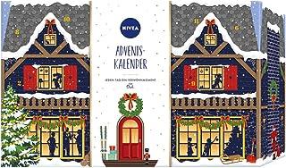 NIVEA 妮维雅 基督降临节日历 2020 24 种独特的舒缓时刻 圣诞日历 带精选护理产品 & 配件,基督降临节时期护理套装