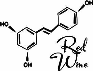 """副分子:红* ~ 装饰艺术印刷。 黑色 11""""×14"""" print"""