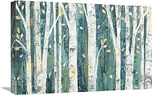Global Gallery Julia Purinton,春天中的小鸟艺术微喷拉伸帆布艺术画,60.96 x 40.64 cm