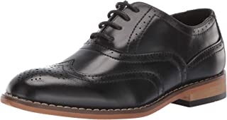 STACY ADAMS 儿童 Dunbar Wingtip 牛津鞋