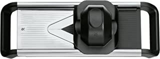 WMF 福腾宝 Top Tools系列蔬菜擦丝切片器 Cromargan不锈钢 洗碗机可用 手指保护设计 带储存盒