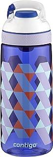 Contigo 康迪克 AUTOSEAL Courtney 儿童水瓶 20盎司/约590毫升,天蓝色