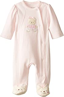 Little Me Baby-Girls Newborn Sweet Bear Footie