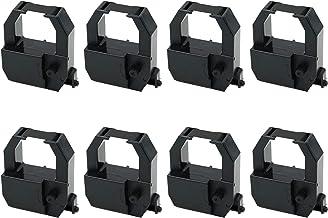 Lot 8 Printerfield Printer Ribbon for AMANOPIX3000/TR810/EX3000/EX3500N Ribbon Cartridge 黑色