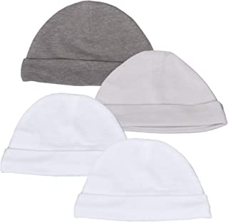Hanes 终极婴儿柔韧针织帽 4 件装