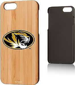 Keyscaper 竹 iPhone 6/6S 保护套 NCAA - 马里兰地地地形霸王队KBAMI6-0MIS-INSGNA 密苏里老虎队 密苏里老虎队