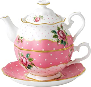 "Royal Albert Cheeky Pink 5 件套餐具套装 多种颜色 Approximately 7"" x 6"" x 10"" CHEPNK26585"